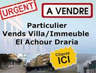 Promotion Vente Immeuble Alger